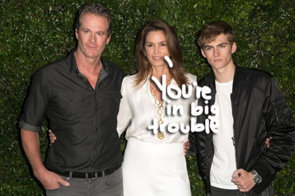 Cindy Crawford's 19-year-old son arrested for DUI