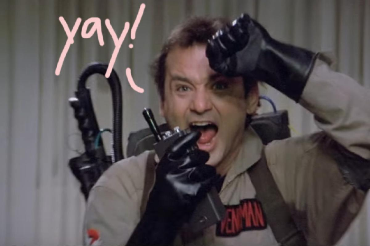 The Ghostbusters sequel announced yesterday already has a teaser
