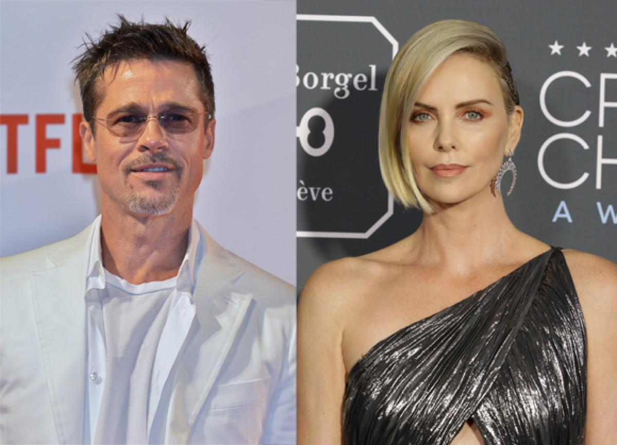 Charlize Theron and Brad Pitt Are Maybe Dating