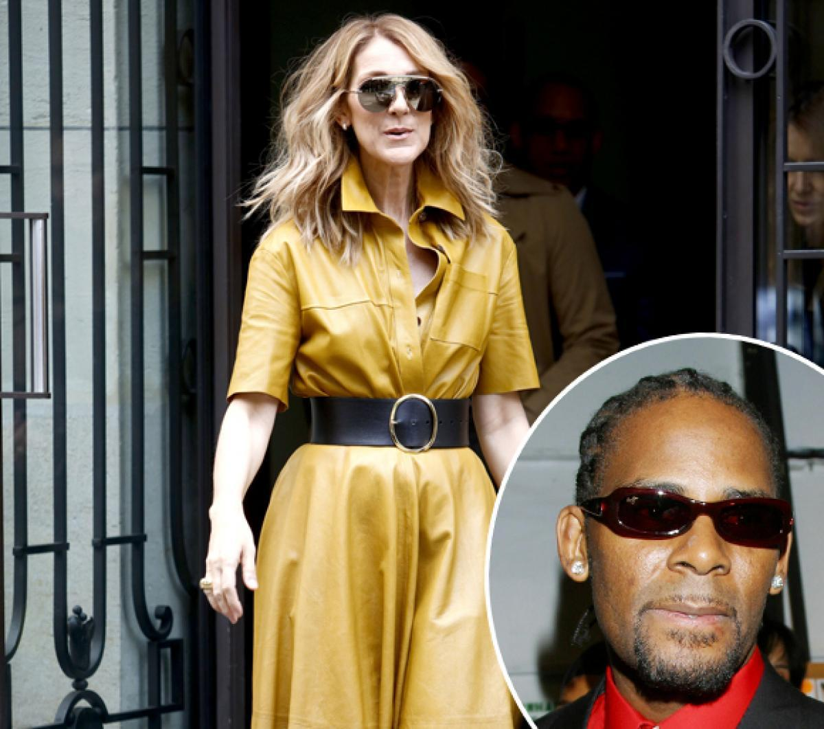 Celine Dion pulls down song with R. Kelly