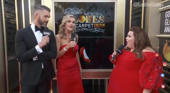Golden Globes 2019: Chrissy Metz calls Alison Brie 'such a b----' live on the red carpet