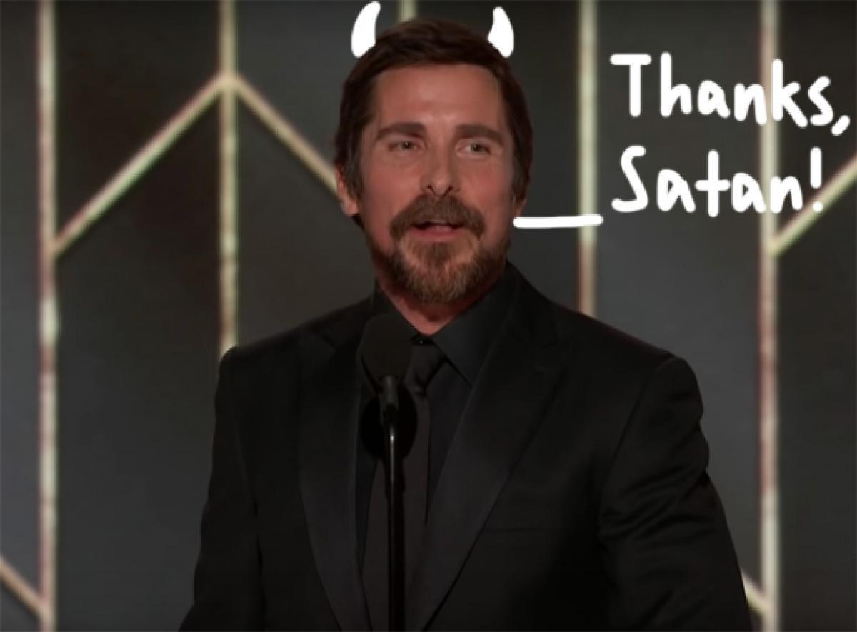 Christian Bale Thanks Satan For Inspiring His Portrayal Of Dick Cheney