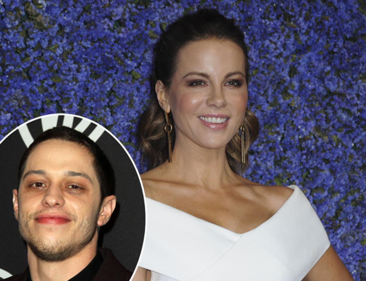 Kate Beckinsale Responds To Fan Question About Pete Davidson