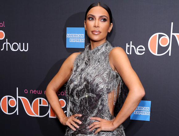 Kim Kardashian Looks Soaking Wet at the Met Gala