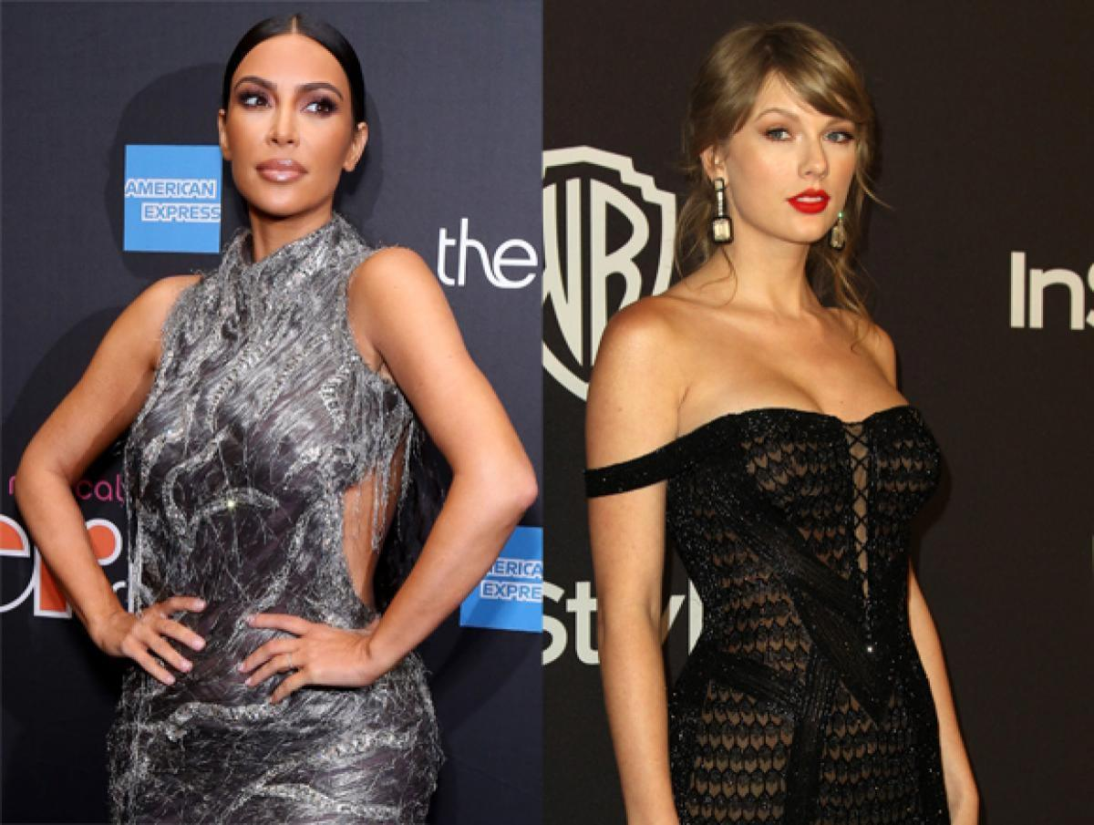 This Feud Is OVER: Kim Kardashian Just Filmed Herself Listening To Taylor Swift's 'Delicate'! - Perez Hilton