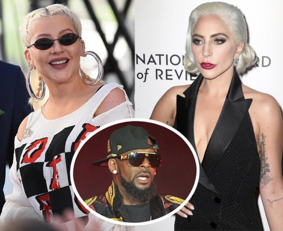 Christina Aguilera Praises Lady GaGa For Speaking Out About R. Kelly — Look!