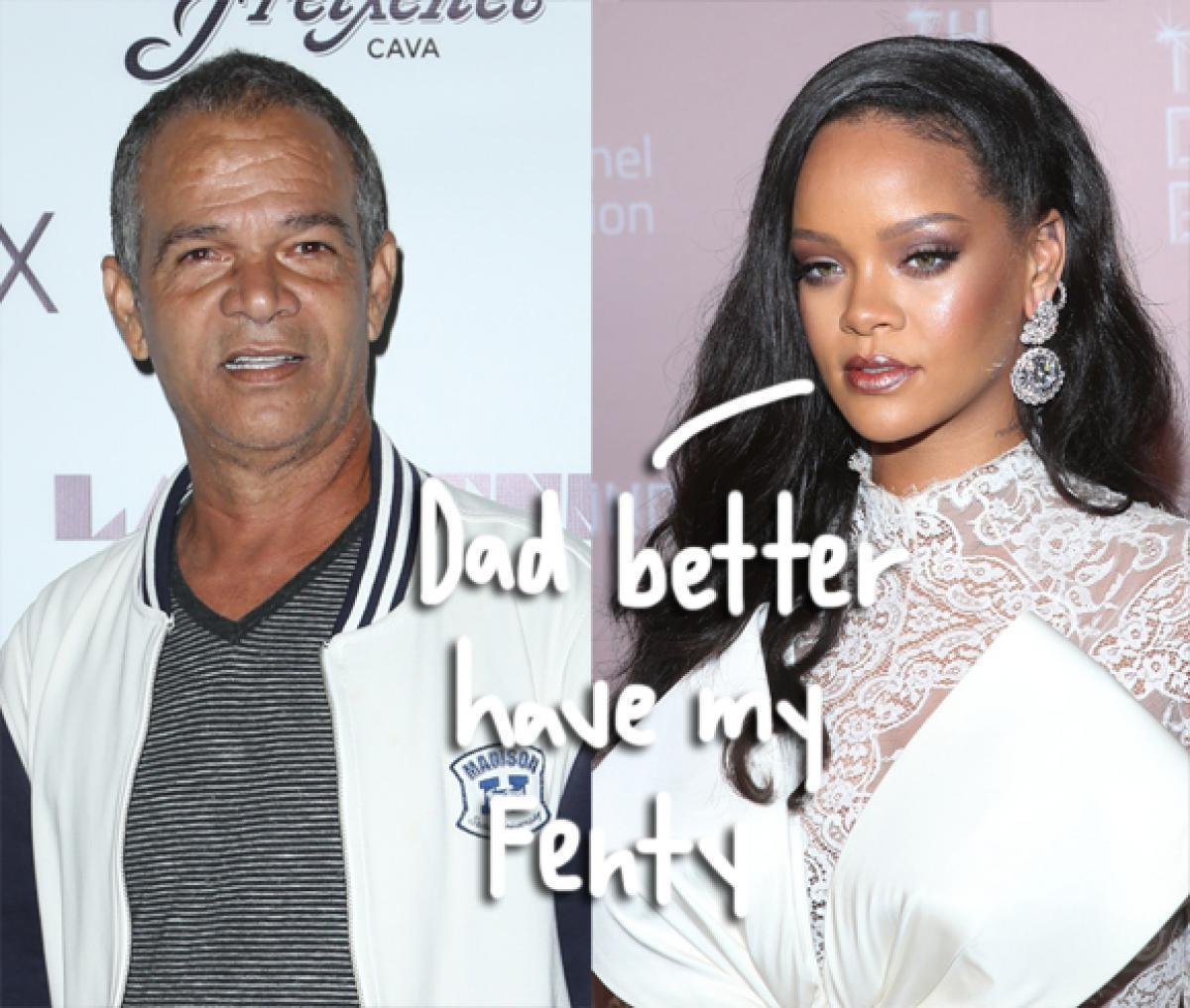 Rihanna Sues Father for Exploiting Her Name