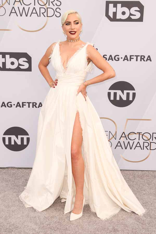 SAG Awards 2019 Red carpet arrivals Lady GaGa