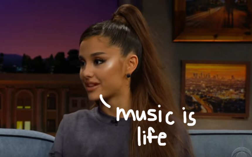 Ariana Grande Says Her Personal Life Is
