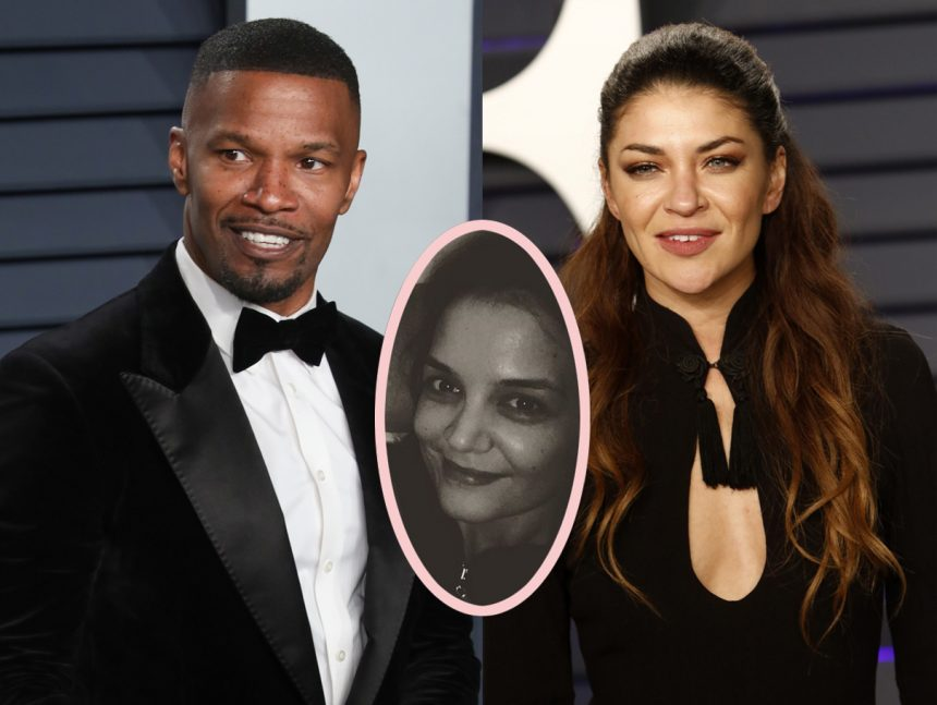 Jamie Foxx single? Star hints at Katie Holmes split at Oscars party