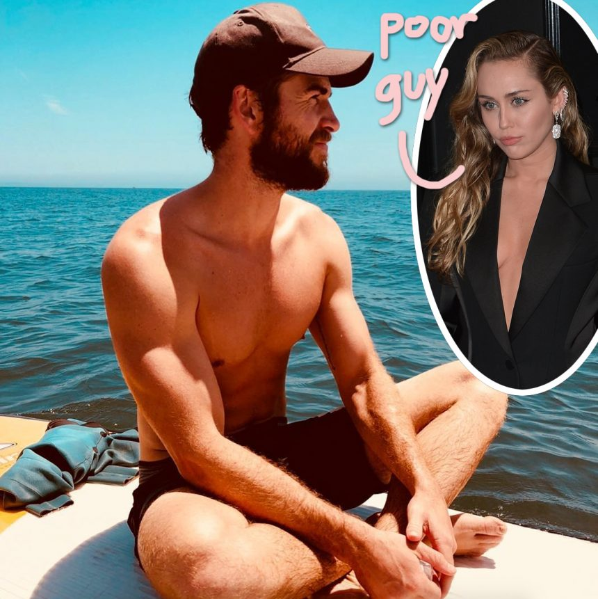 Liam Hemsworth Wasn't With Miley Cyrus At The Grammys — Because He Was In The Hospital!