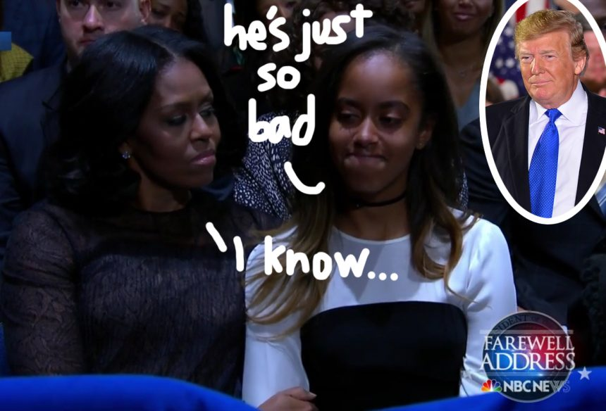 Malia Obama's Secret Facebook Account Discovered - In Which She