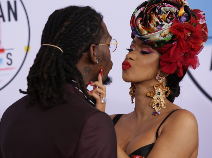 Cardi B and Offset Spotted Partying Together at Atlanta Nightclub After Reconciling