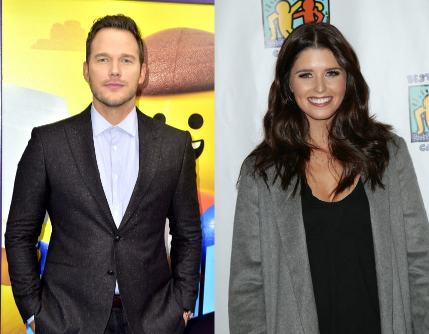 713b0052c9c44c Katherine Schwarzenegger celebrated her upcoming nuptials in style with  soon-to-be husband Chris Pratt by her side… and a whole lot of loved ones  and celebs ...