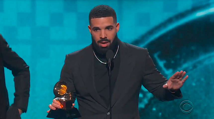 2019 Grammys: Drake's Mic Gets Cut Off As He Downplays Importance Of Award Shows!