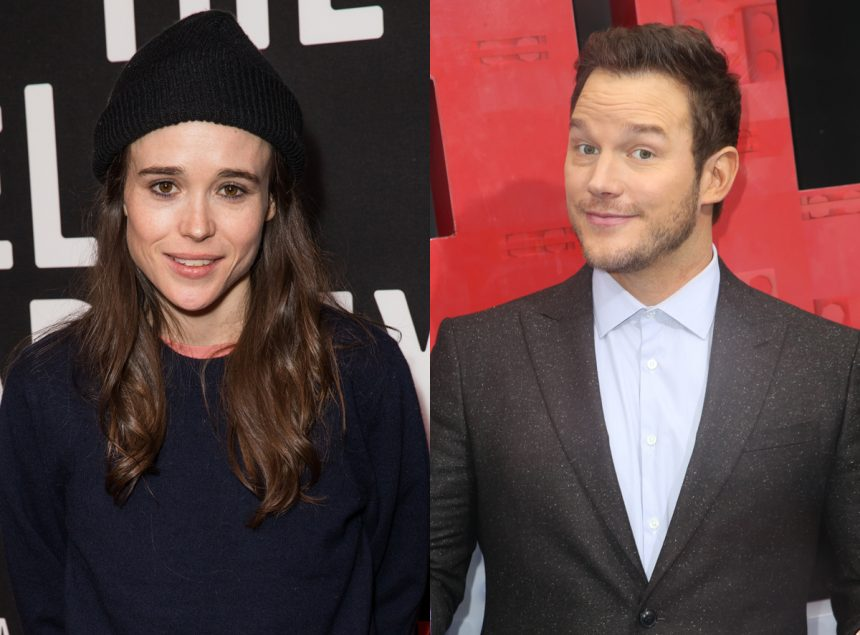 Ellen Page Drags Chris Pratt for His