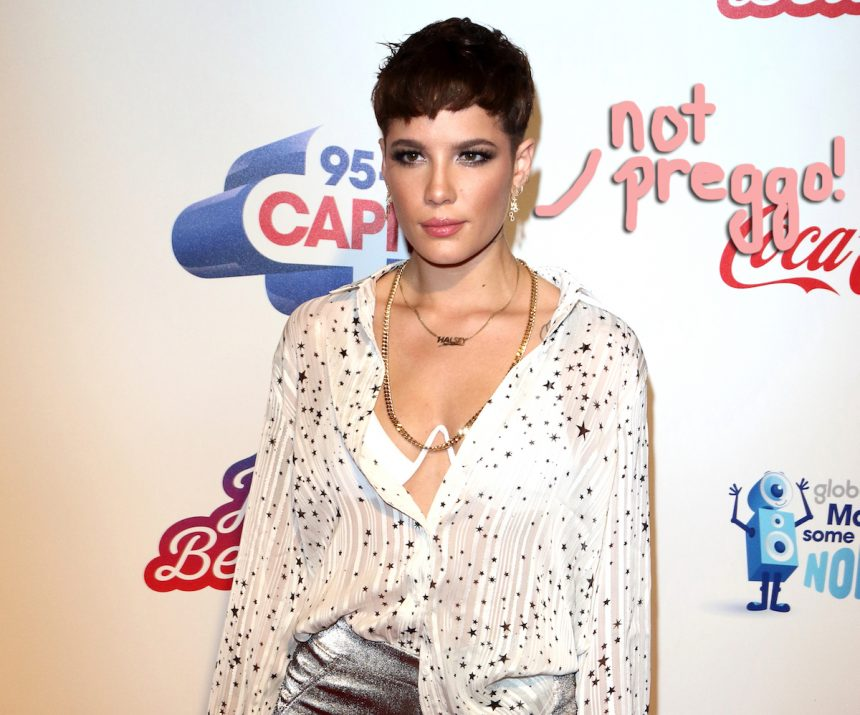 Halsey Jokes With Fans Who Think She's Pregnant