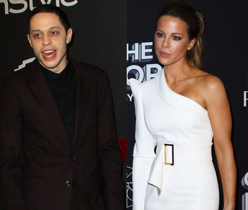 Kate Beckinsale's pals are 'not surprise she likes Pete Davidson'