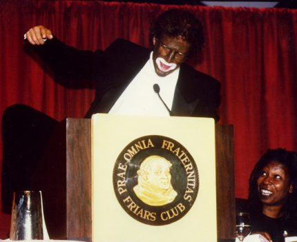 ted danson whoopi blackface
