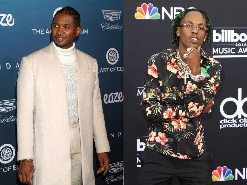 Rich the Kid and Usher involved in armed robbery at recording studio