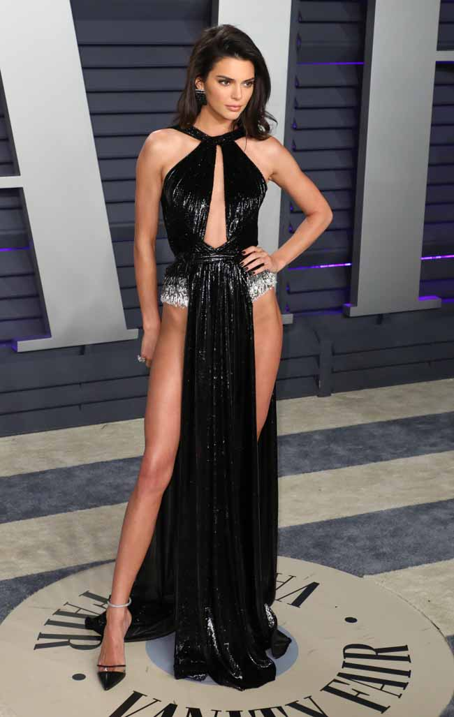 Kendall Jenner at Vanity Fair Oscars Party