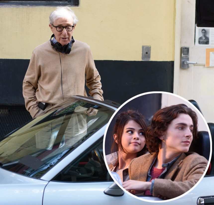 Woody Allen Is Crying Because No One Wants to Produce His Films