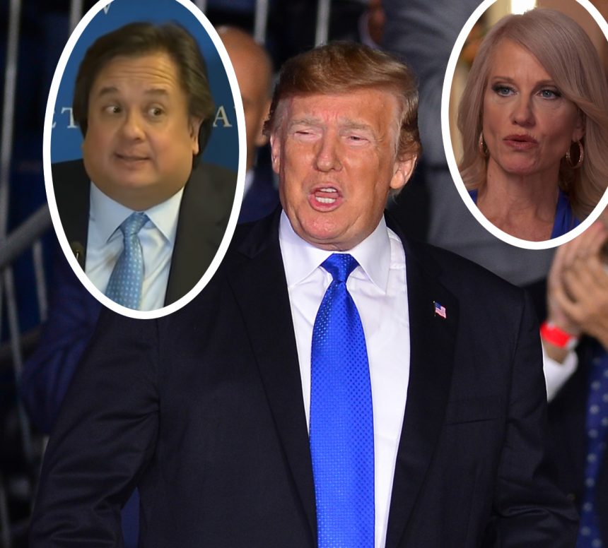 Donald Trump: 'Whack Job' George Conway a 'Tremendous Disservice' to His Family