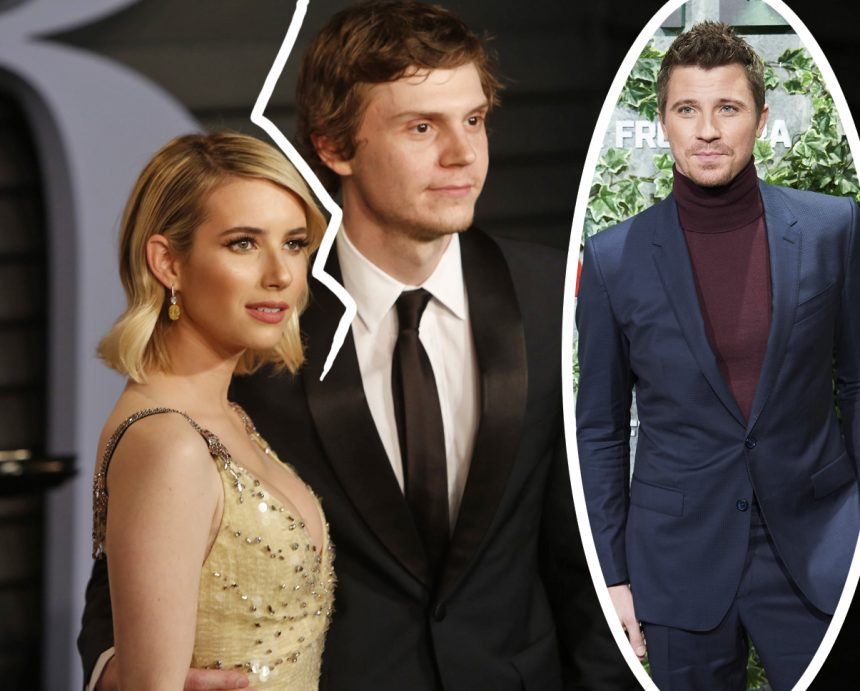 Emma Roberts ENDS Engagement With Evan Peters - And She ...