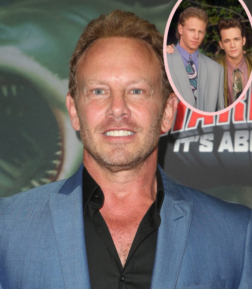 EXCLUSIVE: Ian Ziering Spotted Getting Into Altercation Shortly After  Friend Luke Perry's Passing