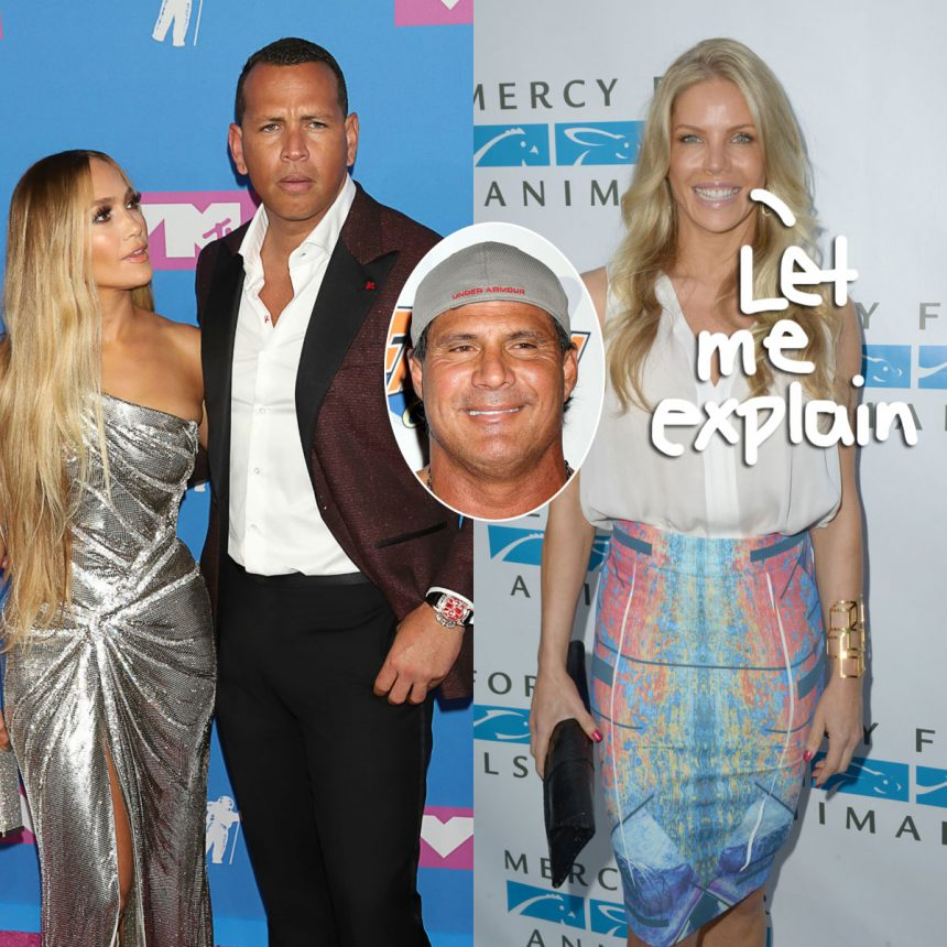 Jose Canseco's Ex Responds to Alex Rodriguez Cheating Rumor