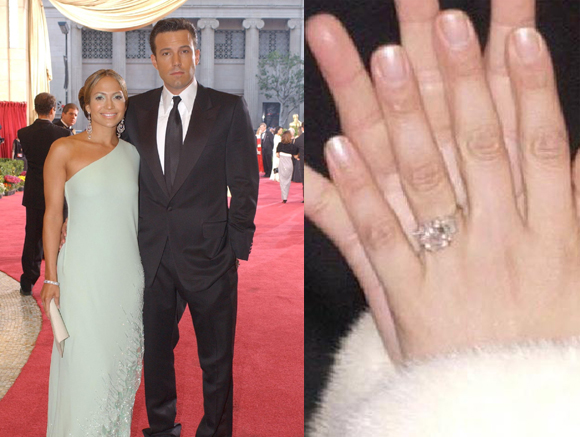 Jennifer Lopez and Ben Affleck got engaged in 2002