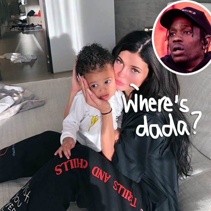 635d4abddb62 Kylie Jenner Cuddles Baby Stormi Amid Her Strained Relationship With Travis  Scott