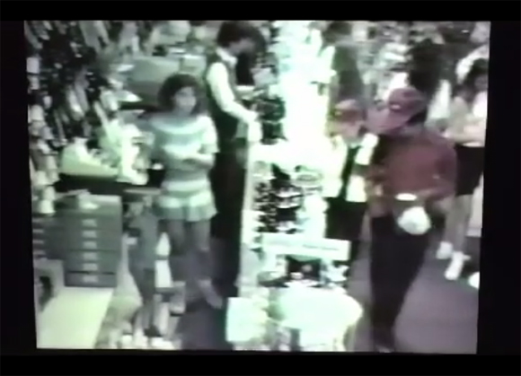 Michael Jackson caught on Jewelry Store Security Footage in 1989