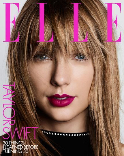 Taylor Swift Covers Elle