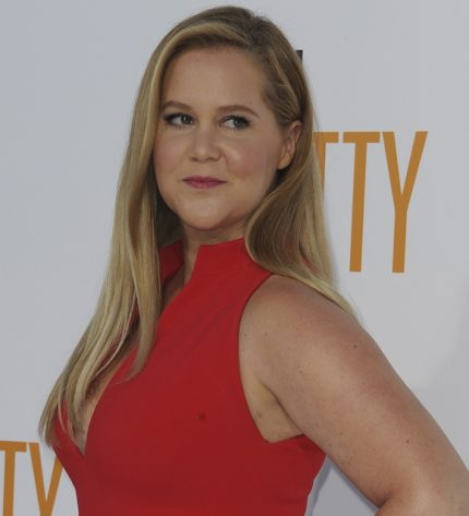 Amy Schumer has a lower back tattoo.