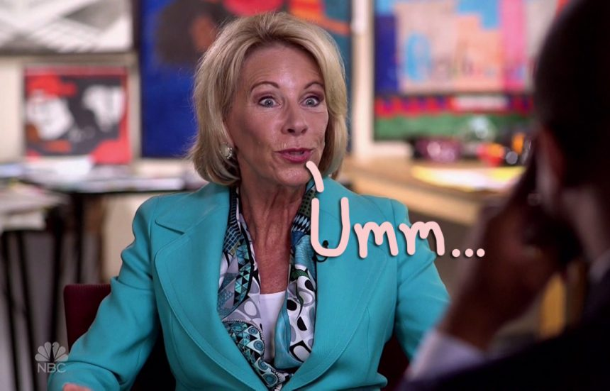 What Betsy Devos Calls Education >> Nfl Star Calls Out Secretary Of Education Betsy Devos For Trying To