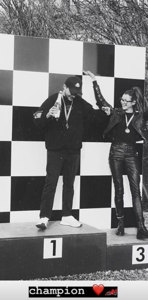 Louis tomlinson go karting champion