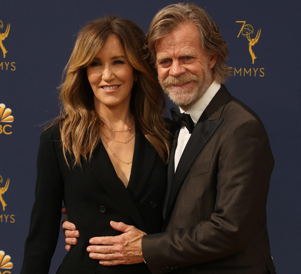 William H. Macy Felicity Huffman college admissions cheating scandal