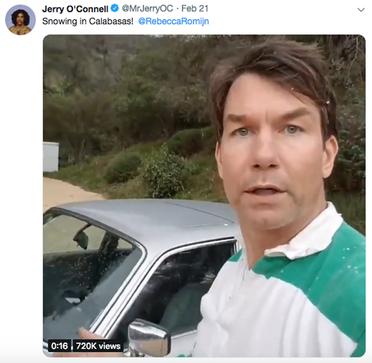 Jerry O'Connell trolls Jordyn Woods