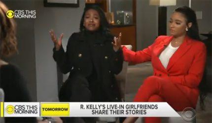 Joycelyn Savage and Azriel Clary defend boyfriend R. Kelly.