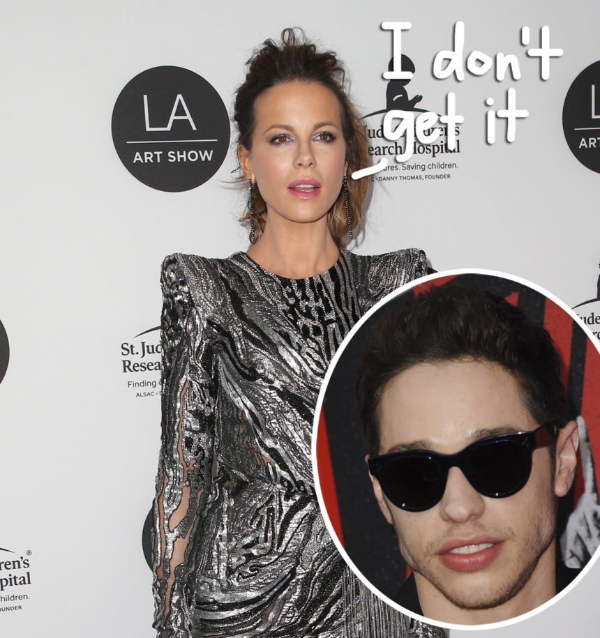 Kate Beckinsale says Pete Davidson brings a 'bag of mischief,' report says