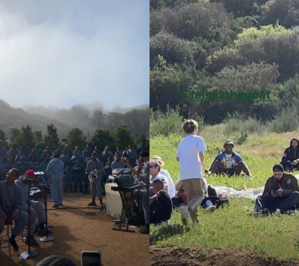 Kanye West sunday service videos