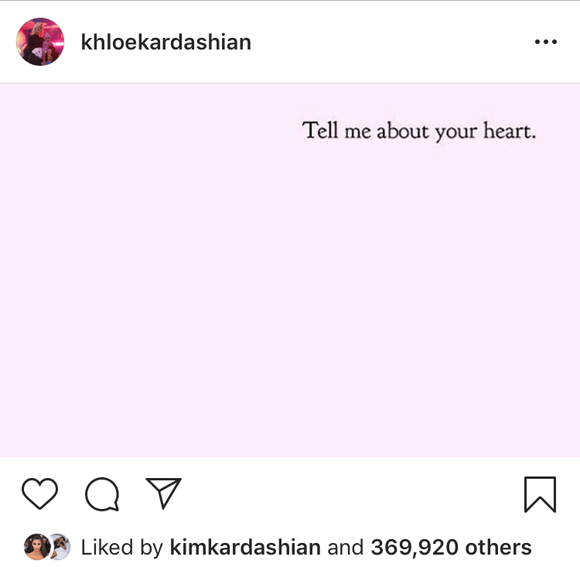 Khloé Kardashian gets deep!