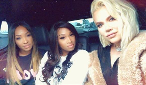 Khloe Kardashian partied it up in Las Vegas!