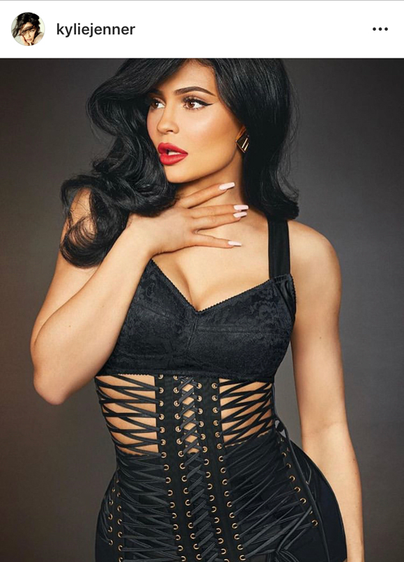 Kylie Jenner covers Interview Germany!