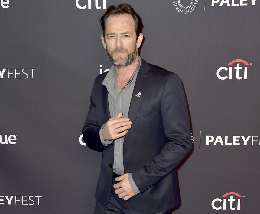Luke Perry's Fiancee Wendy Madison Bauer Breaks Silence After His Death