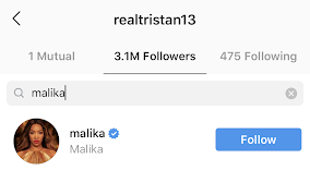 malika-haqq-follows-tristan-instagram