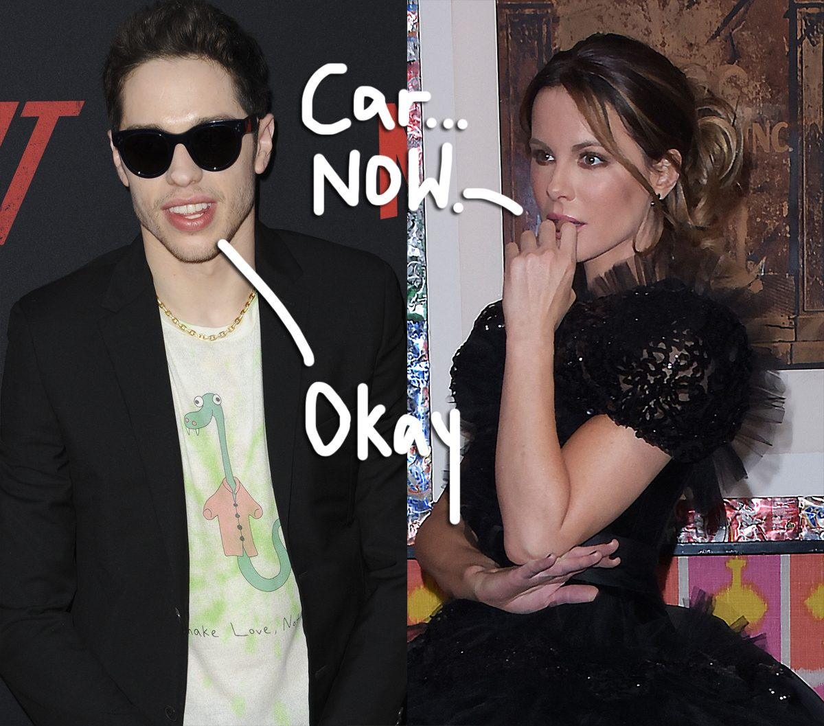 Pete Davidson & Kate Beckinsale Spotted Making Out After Film Premiere: 'They Didn't Care Who