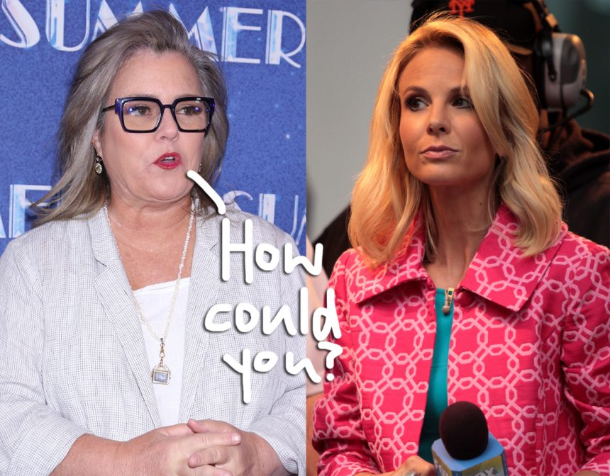 Elisabeth Hasselbeck Slams Rosie O'Donnell's Crush Bombshell