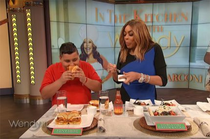 Wendy Williams eats after being rushed to hospital.